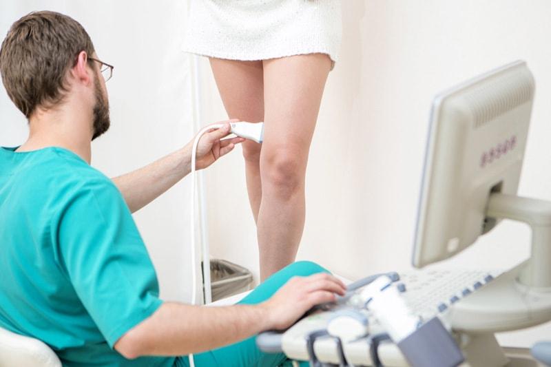 УЗИ диагностика вен у флеболога