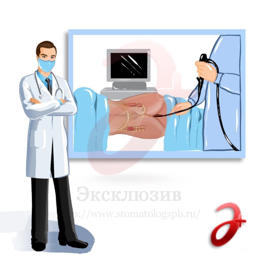 Как проходит прием проктолога в клинике при геморрое