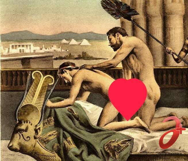 Анальный секс зародился в давние времена