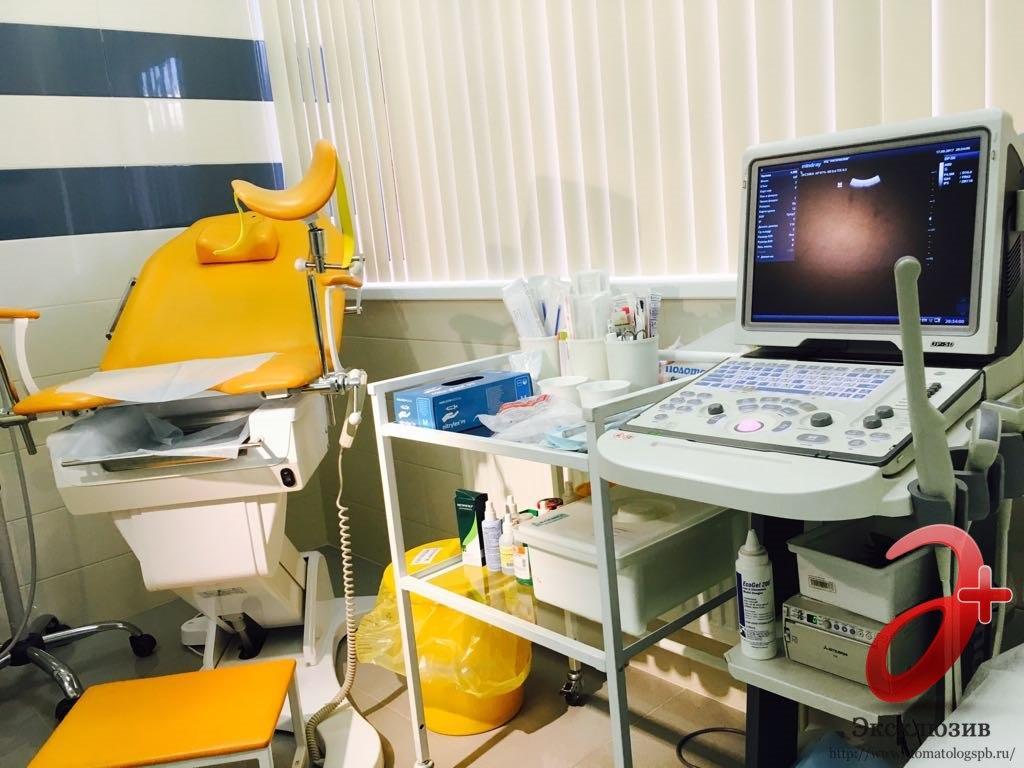 Кабинет гинеколога в нашей клинике