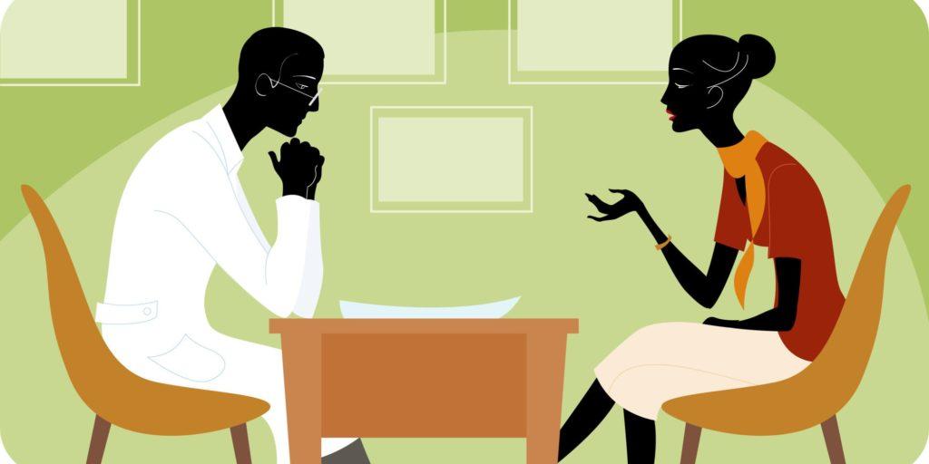Общение с сексопатологом - психологом
