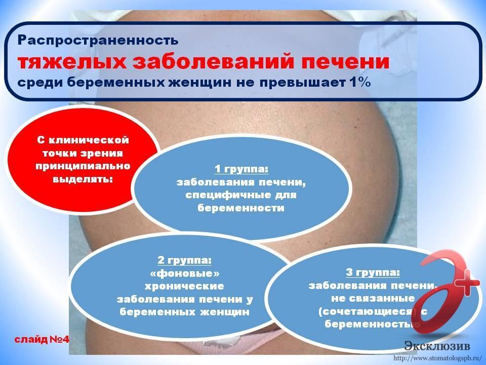 заболевания печени при беременности