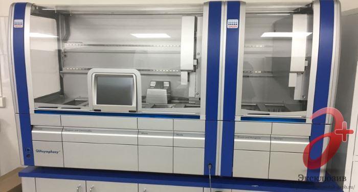 Новейшее лабораторное оборудования для изучения крови