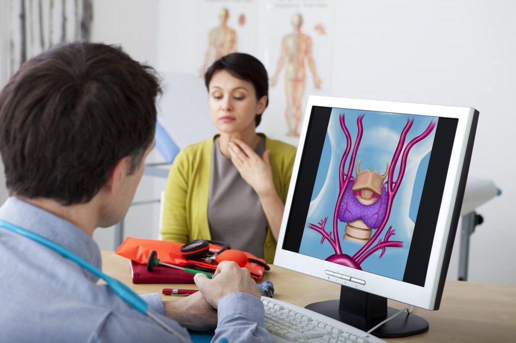 На приеме у эндокринолога